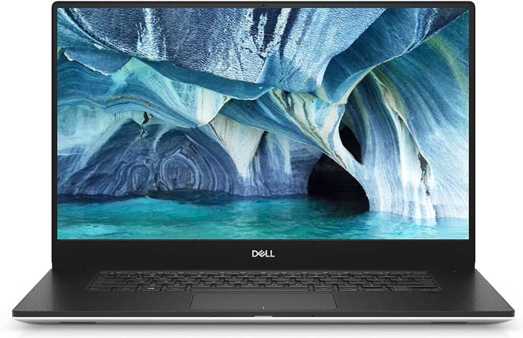 Dell XPS 15 laptop 15.6 inch, 4K UHD InfinityEdge Touch, 9th Gen Intel Core i7