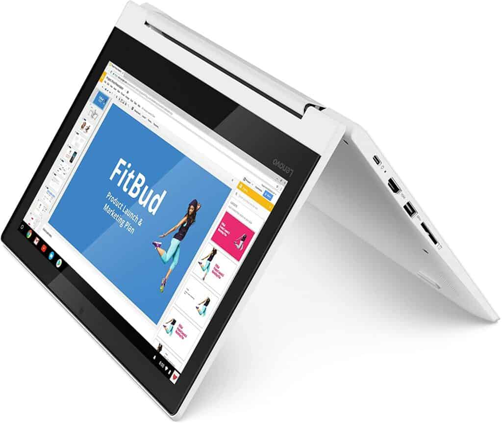 Lenovo Chromebook C330 2-in-1 Convertible laptop for real estate agents